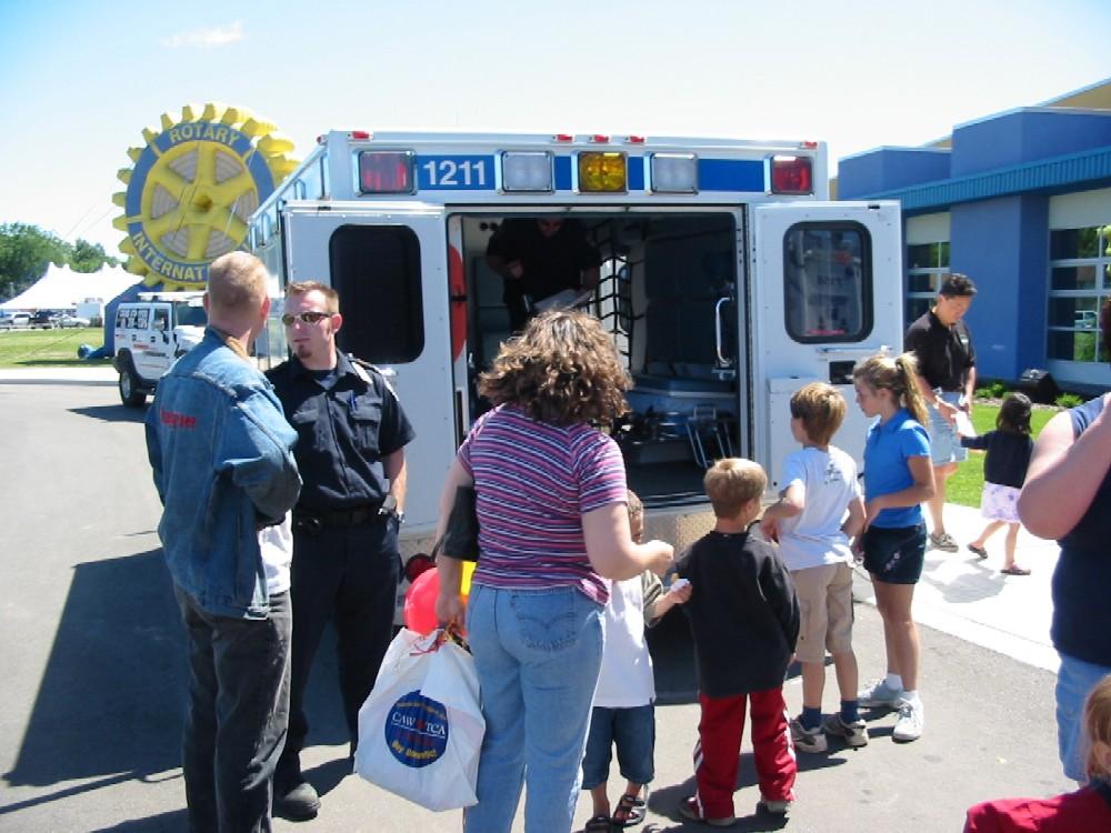 Rotary Club Children's Safety Village 19 June 04